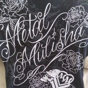 Metal mulisha top size xs
